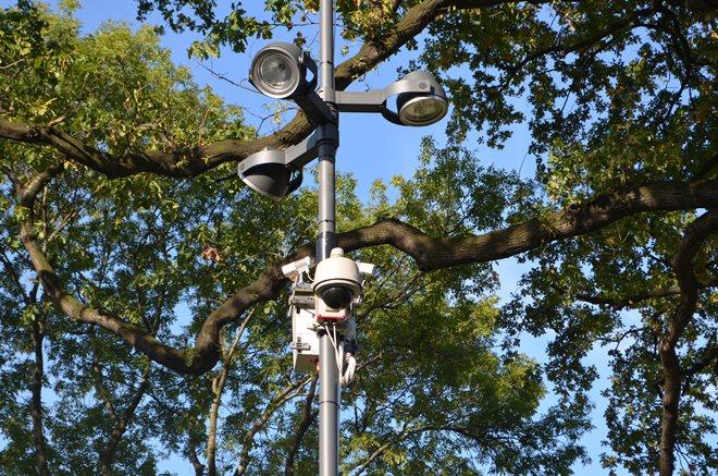 Parku nad Nacyną strzeże już kamera
