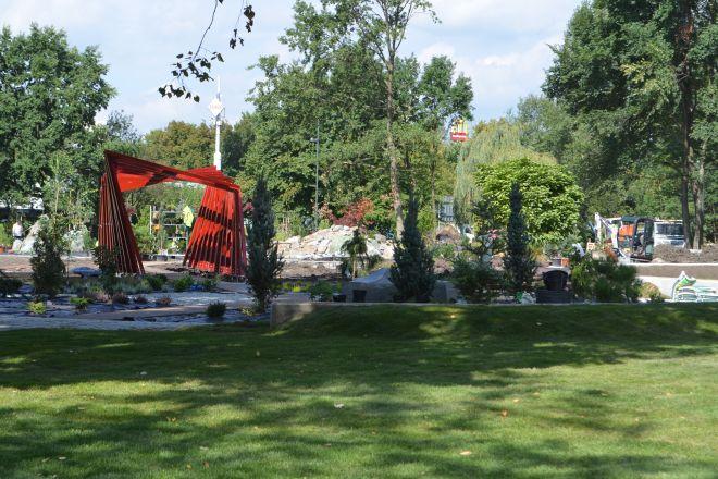 Zakończenie prac w parku nastąpi później niż zakładano