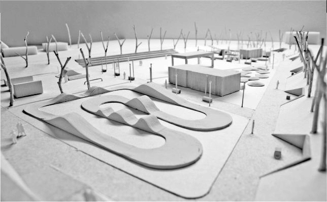 Zwycięzcą konkursu zostało biuro projektowe Riegler Riewe Architekci z Katowic