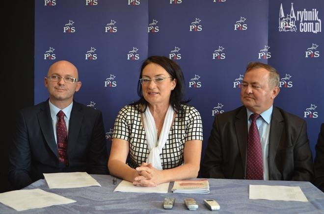 Senator Izabela Kloc przedstawiła ''jedynki'' do rybnickiej rady miasta