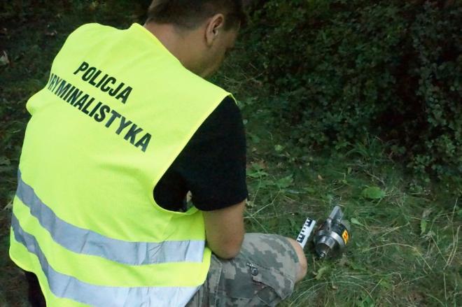 Koniec poszukiwań radioaktywnego irydu - zguba odnalazła się, KWP Katowice