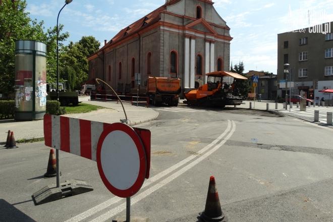 Wraz z wakacjami rozpoczęły remonty dróg w Rybniku