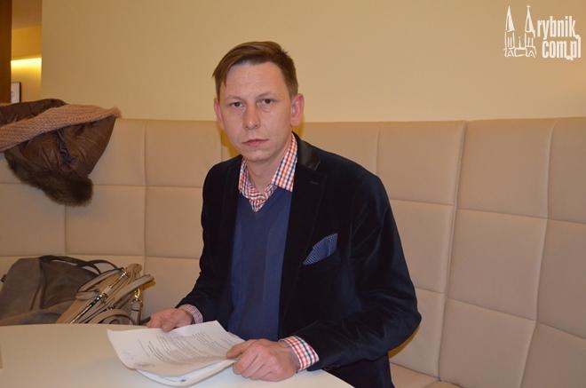 Na zdjęciu: Bartosz Sapota