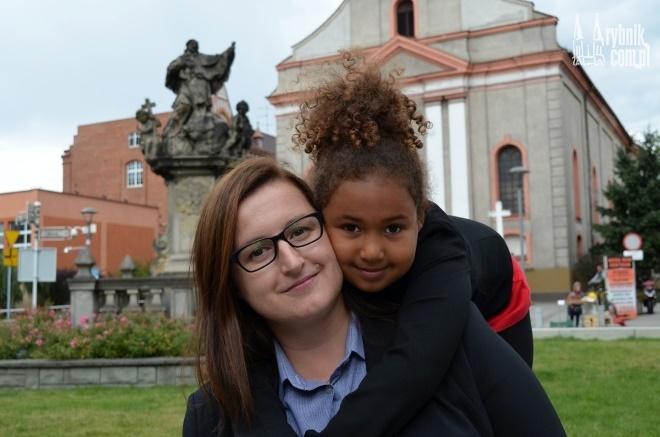 Sara i jej mama Karina