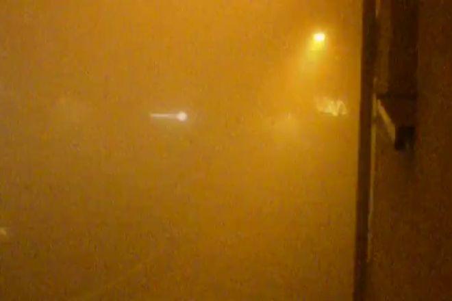 Tak dzisiaj wyglądało centrum Rybnika o 1.00 w nocy