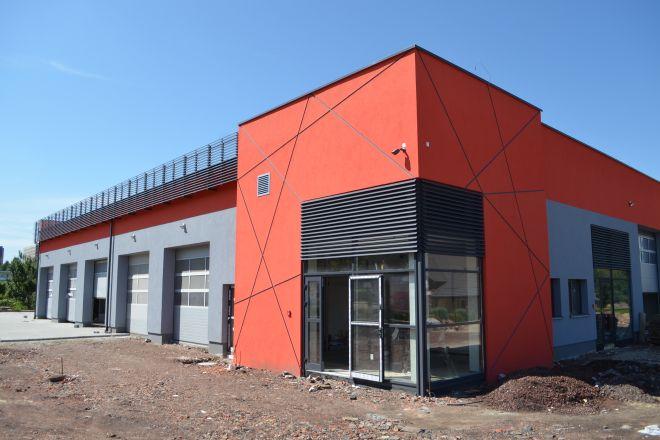 Tak prezentuje się obecnie budynek nowej stacji kontroli pojazdów na ul. Budowlanych