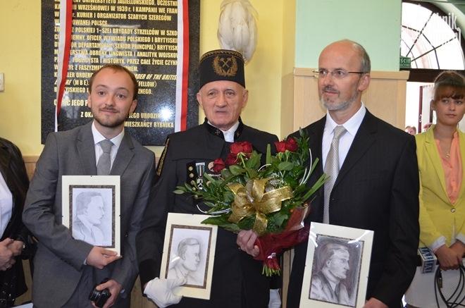 Na zdjęciu pierwszy z prawej strony: Andrzej Malcher - syn Jerzego Malchera