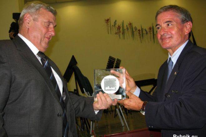 Jacques Beaulieu (po prawej) został honorowym obywatelem Rybnika