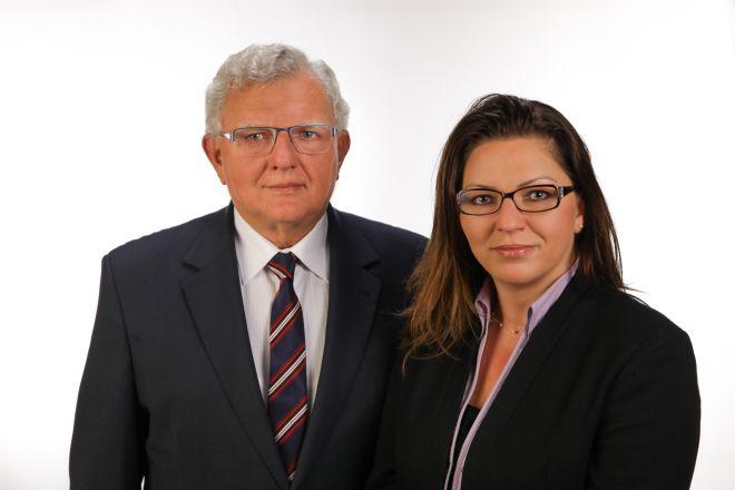 Na zdjęciu: Janusz Kempny i Mirosława Słońska