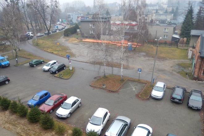 W tym miejscu ma powstać stacja paliw i stacja kontroli pojazdów
