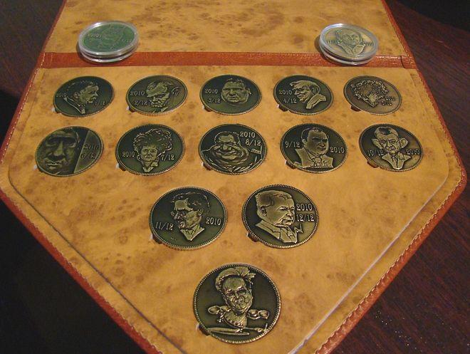 Nowa kolekcja monet wybitych przez Tomasza Bodacha