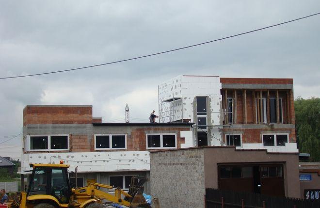 Tak wyglądają postępy na budowie...