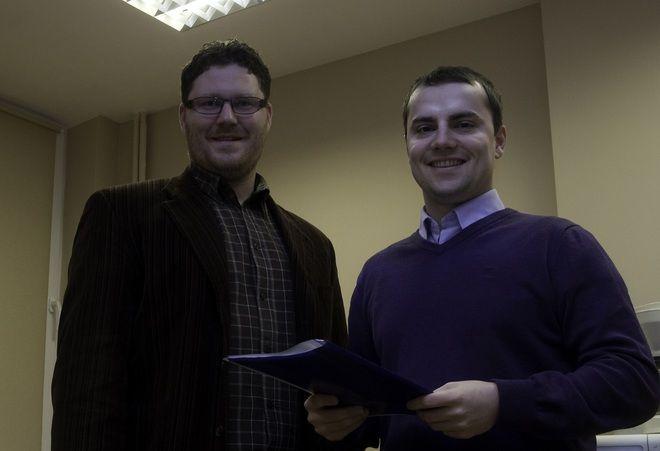 Radosław Knesz i Wojciech Kiljańczyk.