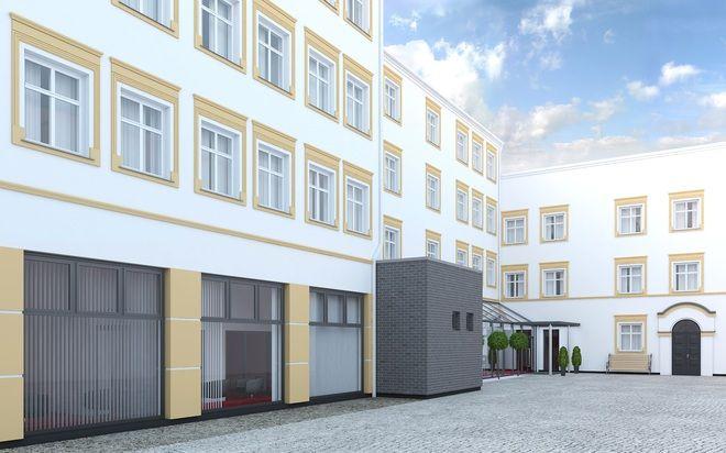 Wstępna wizualizacja przebudowy Zajazdy przy Młynie.