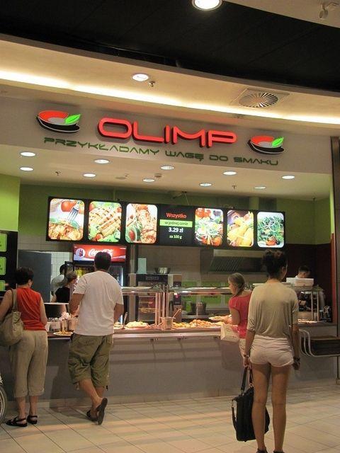 Nowa restauracja Olimp z daniami na wagę