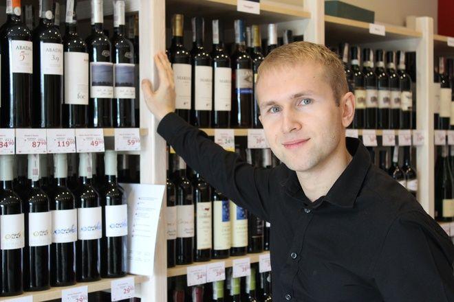 Ireneusz Goleniowski otworzył w Rybniku specjalistyczny sklep z winami