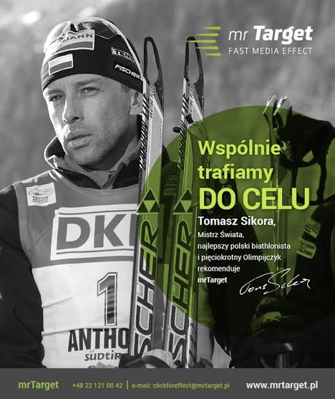 Tomasz Sikora swoje sportowe sukcesy przekuwa na współpracę marketingową z firmami