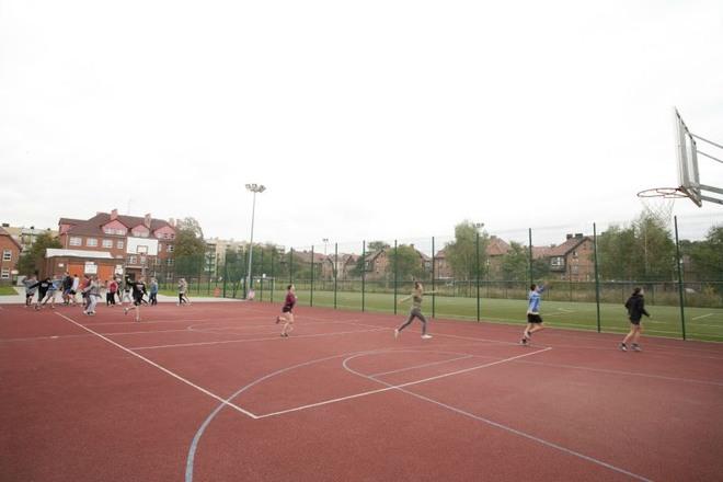Jedno z wielofunkcyjnych boisk w Czerwionce-Leszczynach