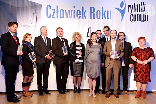 Oto laureaci Konkursów Człowiek Roku 2013 portali: Rybnik.com.pl, tuWodzislaw.pl, tuZory.pl i tuJastrzebie.pl