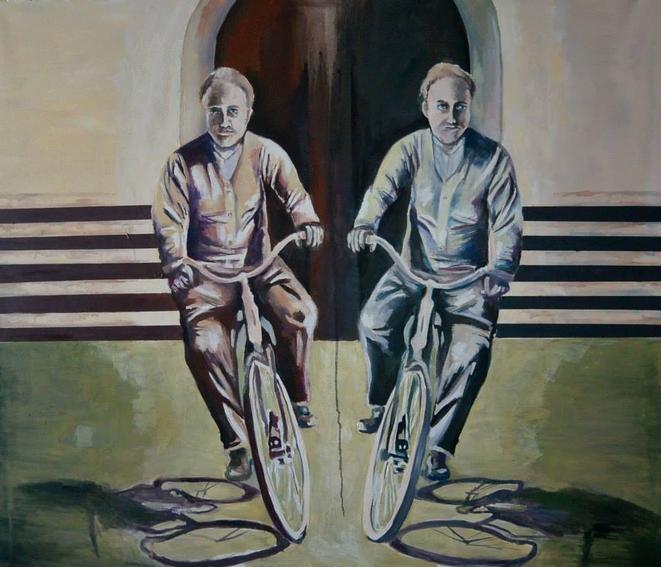 Obraz ''Rowery'' Iwony Kołodziej