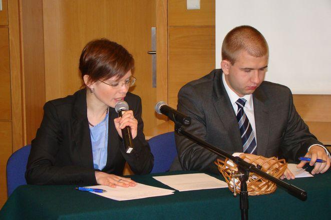 Finałowa dwójka: Dominika Kuśka i Łukasz Dycha