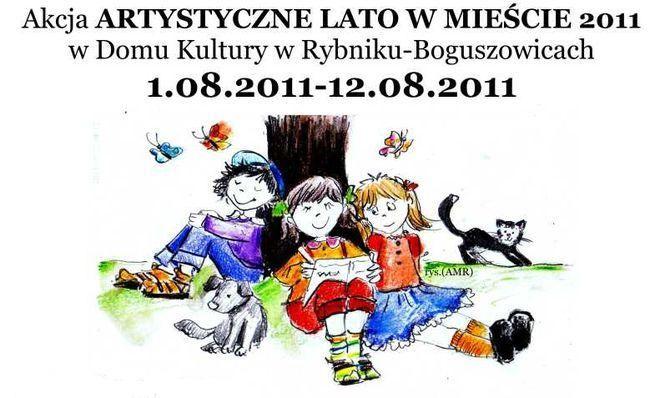Plakat Boguszowskich wakacji