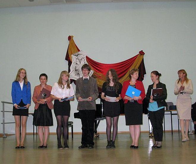 Prymusi z Rybnika odebrali swoje wyróżnienia w Państwowej Szkole Muzycznej I i II stopnia w Rybniku