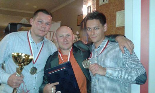 Wojciech Kasperski, Artur Duda i Krzysztof Paździerski