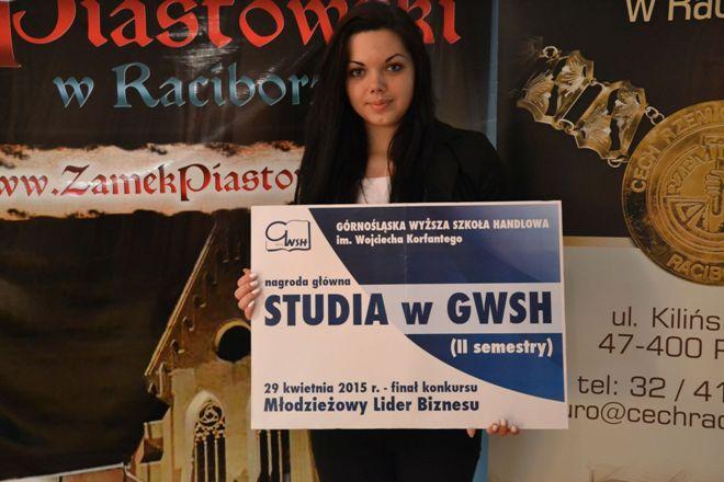 Laureatka konkursu, Roksana Gatner