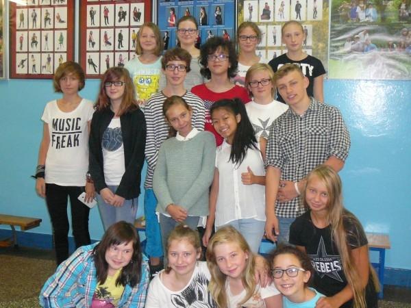 Szóstoklasiści ze Społecznej Szkoły Podstawowej