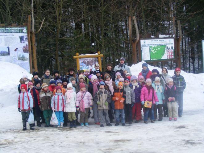 Zimowy kulig w Wiśle