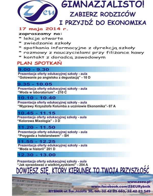Plan Dnia Otwartego w ZSE-U