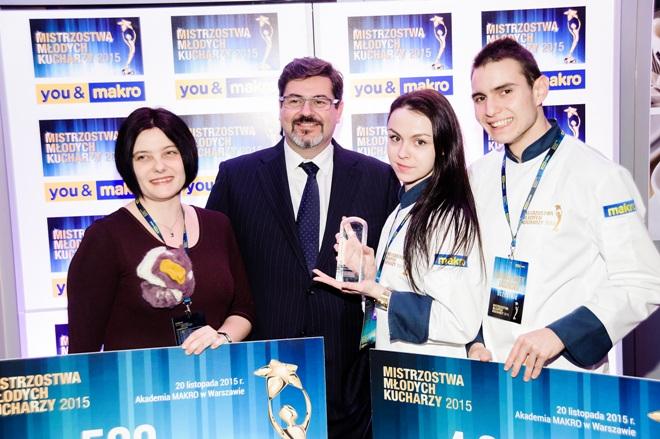 Mariusz Jasiński i Zuzanna Sałbut - laureaci 3 miejsca w konkursie
