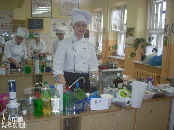 Martyna Rusin podczas konkursu
