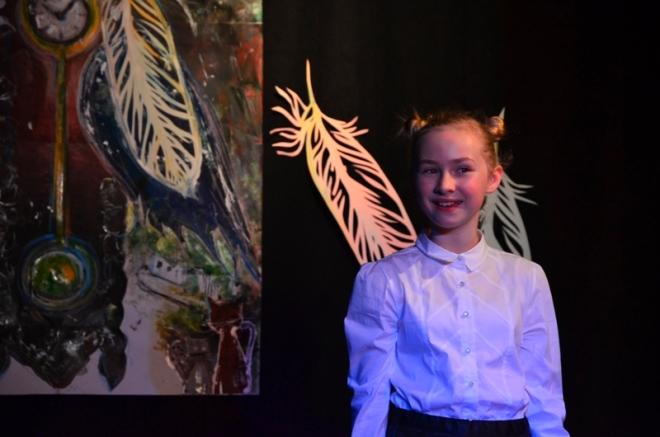 Inga Kulak z ZS-P 12, zwyciężyła w rywalizacji uczniów z klas IV-VI