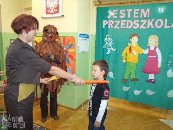 Wychowankowie Przedszkola nr 15 w Boguszowicach