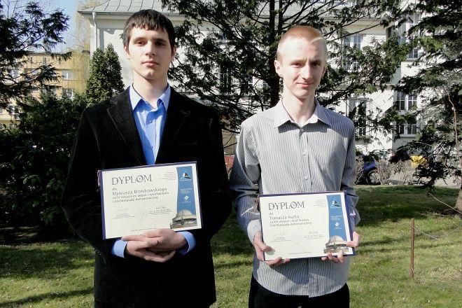 Mateusz Bronikowski i Tomasz Kurek