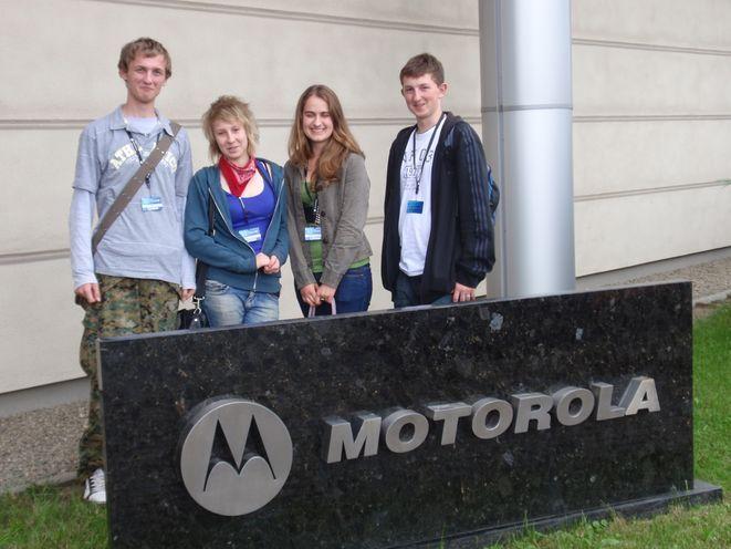 Od lewej: Andrzej Kopeć, Magdalena Musiolik, Justyna Kuszowska i Szymon Datko