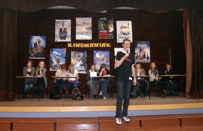 """""""Kinomaniaka"""" przygotował nasz redakcyjny kolega, Adam Doliba"""