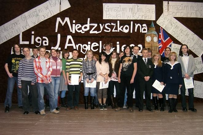 Uczestnicy finału konkursu.