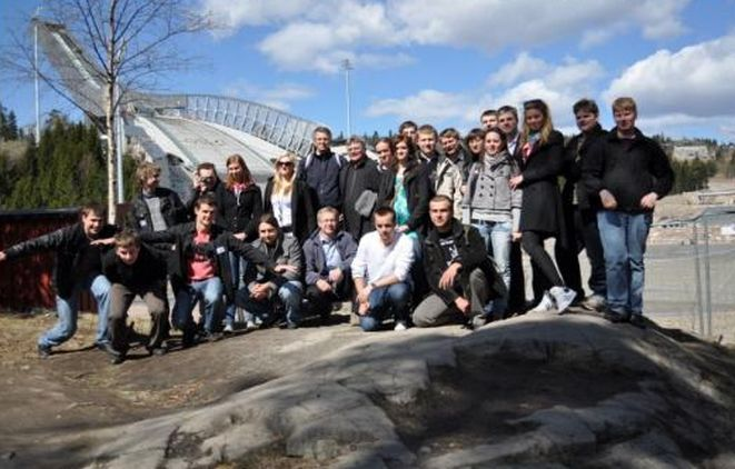Młodzież z Rybnika miała okazję zwiedzić Norwegię