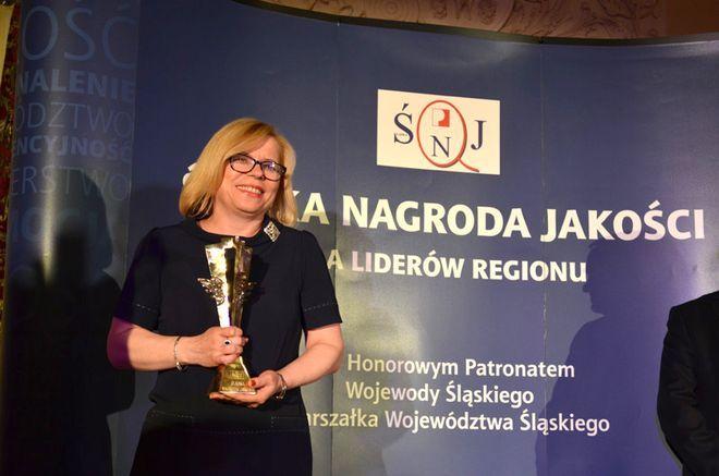 Śląska Nagroda Jakości w kategorii ''Praktyka'' trafiła do Gabrieli Lenartowicz