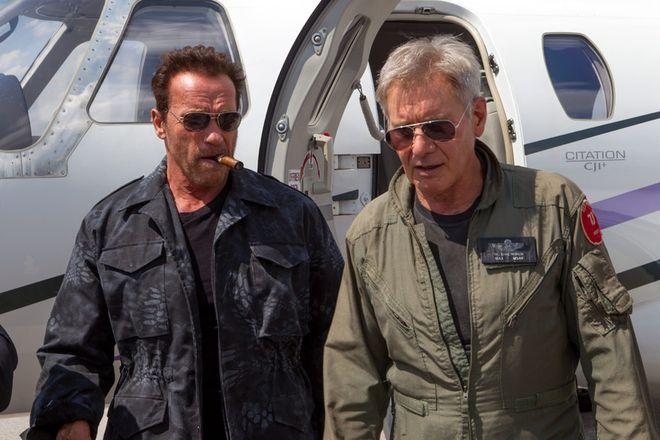 Arnold Schwarzenegger i Harrison Ford