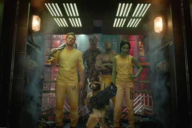 """Kadr z filmu """"Strażnicy Galaktyki """""""