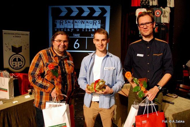 """""""Wielka Trójka"""", czyli (od lewej): Przemek Frysz, Mateusz Garbulowski i Adam Doliba"""