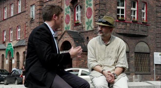 Kadr z filmu ''Być Ślązakiem to powód do dumy''
