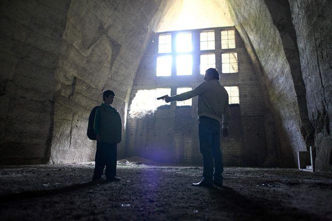 Kadr z filmu ''Gomorra''