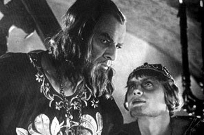 Kadr z filmu ''Iwan Groźny''.