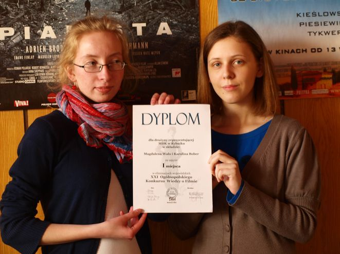 Laureatki konkursu, Magdalena Walo i Karolina Bober