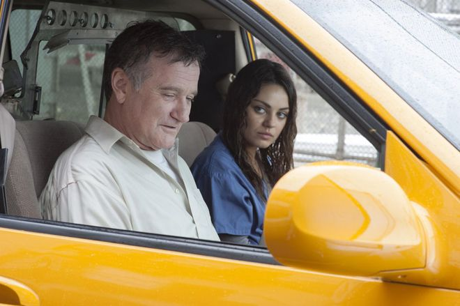 Robin Williams i Mila Kunis